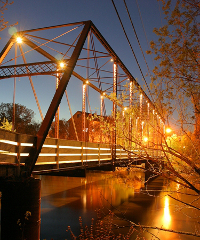 Historic Bridge in Hanover, MN