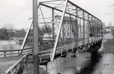 Historic Bridge in Hanover - Circa 1935